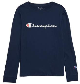 Champion Heritage Long Sleeve Logo T-Shirt
