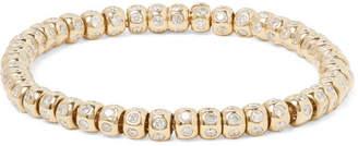 Luis Morais 14-Karat Gold Diamond Bracelet