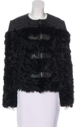 Tom Ford Wool-Trimmed Alpaca Jacket