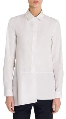 Jil Sander Diana Button-Front Shirt