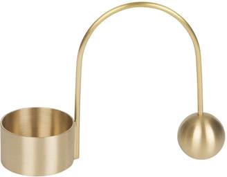 ferm LIVING Balance Brass Tealight Holder