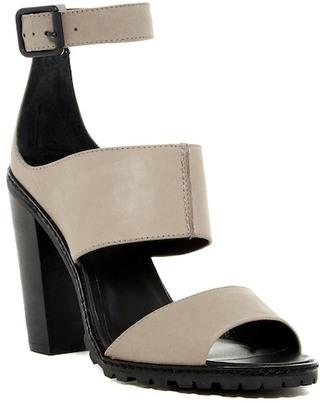 Kelsi Dagger Liza Triple Strap Chunky Sandal $160 thestylecure.com