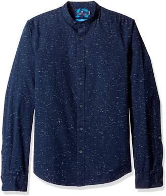 Scotch & Soda Men's Longsleeve Shirt in Crispy Cotton Quality