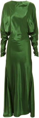 Victoria Beckham Open Back Draped Dress