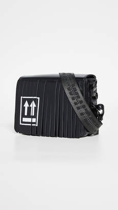 Off-White Fringed Flap Bag