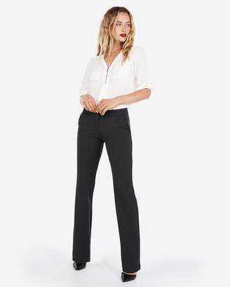 Express Petite Mid Rise Barely Boot Columnist Pant