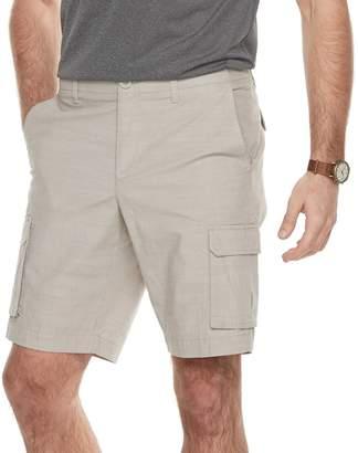 Apt. 9 Men's Premier Flex Regular-Fit Stretch Chambray Cargo Shorts
