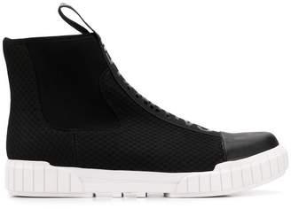 Calvin Klein Jeans mesh panels boots