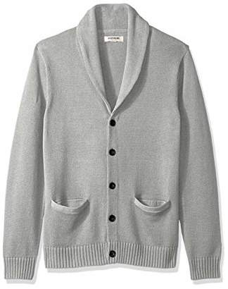 Goodthreads Men's Soft Cotton Shawl Cardigan Sweater,Large