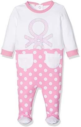 Benetton Baby Girls' Overall Romper
