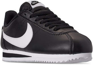 Nike Women Classic Cortez Leather Casual Sneakers from Finish Line