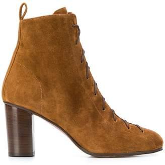 Michel Vivien Harrow chunky heel boots