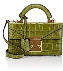 Stalvey Women's Top-Handle 2.0 Mini Alligator Satchel-Kiwi