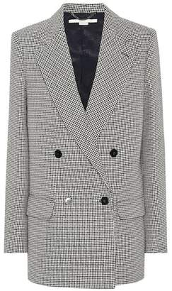 Stella McCartney Houndstooth wool blazer