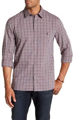 John Varvatos Glenplaid Trim Fit Shirt