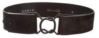 Akris Nubuck Waist Belt