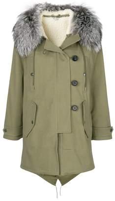 Miu Miu (ミュウミュウ) - Miu Miu hooded parka coat