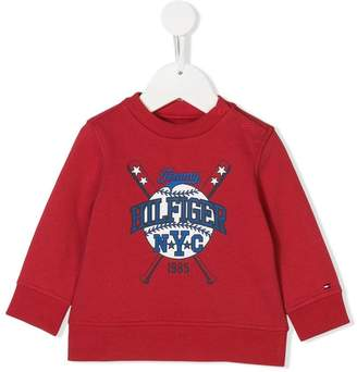 Tommy Hilfiger Junior logo print sweatshirt
