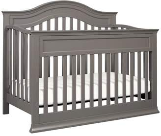 DaVinci Brook 4-in-1 Convertible Crib With Toddler Bed Conversion Kit, Dark Java