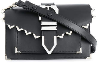 Versus buckled shoulder bag