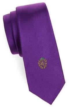 Lauren Ralph Lauren Boy's Textured Slim Silk Tie
