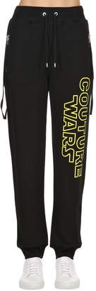 Moschino Wars Printed Cotton Sweatpants