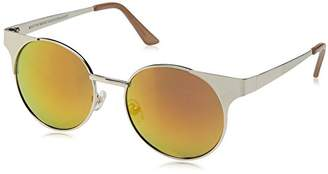 Foster Grant Item 8 Dd.6 Round Gold Women's Designer Sunglasses