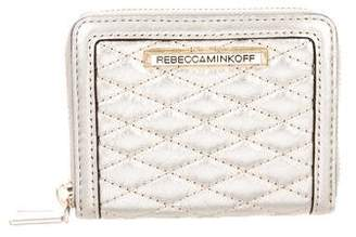 Rebecca Minkoff Metallic Leather Wallet
