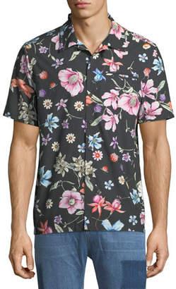 Ovadia & Sons Beach Bouquet Short-Sleeve Sport Shirt