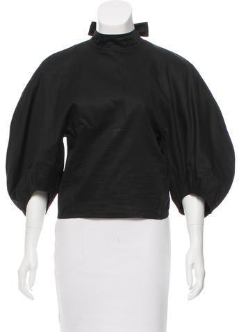 CelineCéline Short Sleeve Cropped Top