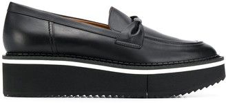 Clergerie platform loafers