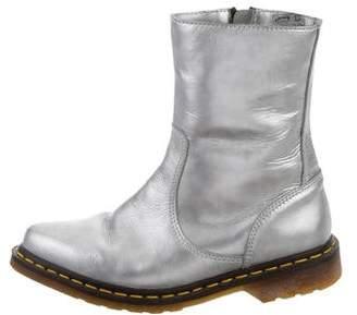 Dr. Martens x Yohji Yamamoto Point-Toe Leather Boots
