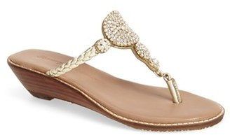 Tommy Bahama 'Yerba' Wedge Sandal $157.95 thestylecure.com