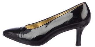 Walter Steiger Patent Leather Pointed-Toe Pumps