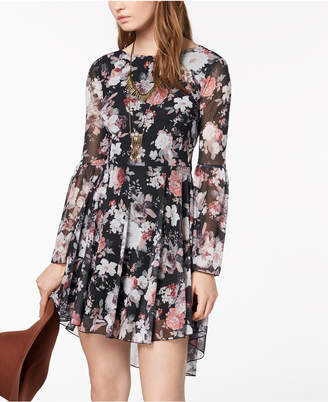 American Rag Juniors' High-Low Fit & Flare Dress, Created for Macy's