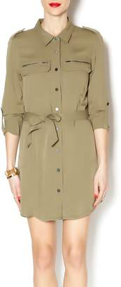 Sanctuary Army Shirt Dress