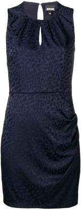 Just Cavalli sleeveless fitted mini dress