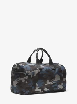 Michael Kors Travis Camouflage Nylon Duffel