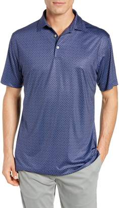 Peter Millar Midtown Regular Fit Paisley Polo