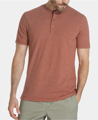 Weatherproof Vintage Men Striped Henley Shirt