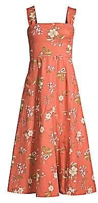 Rebecca Taylor Women's Lita Floral FIt-&-Flare Dress - Size 0