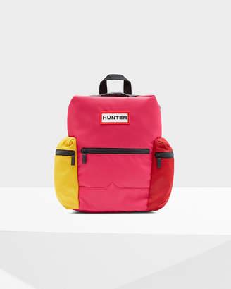 Hunter Color Block Mini Top Clip Backpack