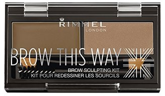 Rimmel Brow This Way Sculpting Kit, Blonde, 0.04 Ounce $5.99 thestylecure.com