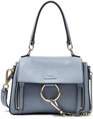 Chloé Mini Faye Calfskin & Suede Day Bag