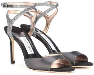 Jimmy Choo Helen 85 peep-toe sandals