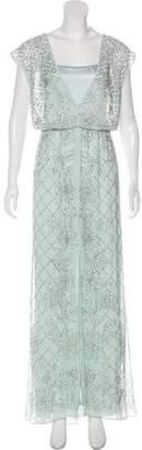 Needle & Thread Embellished Maxi Dress w/ Tags