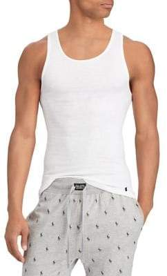 Polo Ralph Lauren Three-Pack Classic-Fit Cotton Tank Tops