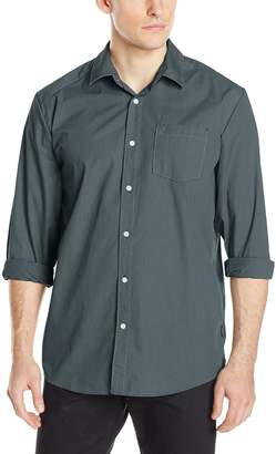 Volcom Men's Everett Solid Long Sleeve Shirt