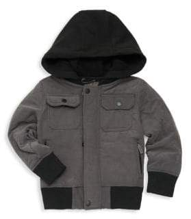 Urban Republic Little Boy's Layered Quilted Bomber Jacket