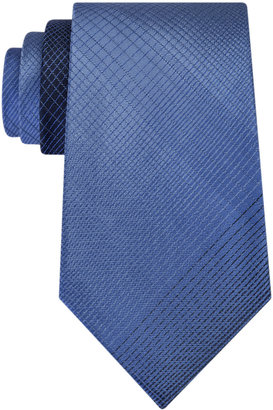 Kenneth Cole Reaction Men's Jumbo Shaded Plaid Tie $55 thestylecure.com